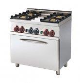 Kuchnia gazowa zpiekarnikiem CF4-68 G (22 kW)