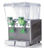 Dozownik barowy do napojów niegazowanych. Magnetyczna pompa z efektem fontanny miesza napoje wewnątrz pojemników.
