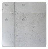 Talerz kwadratowy Concrete, śr. 28 cm