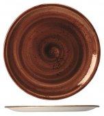 Talerz płytki Coupe Craft Terracotta, śr. 25.2 cm