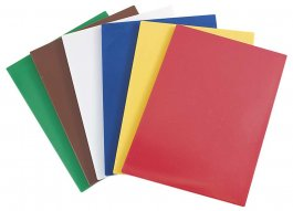 Deska czerwona do krojenia, wym. 60x40x2 cm, 341621
