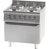 Kuchnia elektryczna 4 palnikowa z piekarnikiem elektrycznym 10,4+7kW (statyczny), 971600