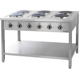 Kuchnia elektryczna wolnostojąca 6x2,5 kW, 979600