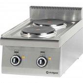 Kuchnia nastawna elektryczna 2 polowa 5,2 kW, wym. 400x700 mm, 970500