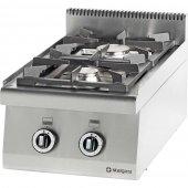 Kuchnia nastawna gazowa 2 palnikowa 8,5 kW - G30/31 (propan-butan), 970513