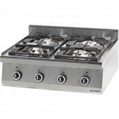 Kuchnia nastawna gazowa 4 palnikowa 20,5kW - G30/31 (propan-butan), 970613