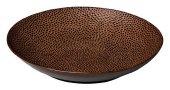 Talerz na pastę brązowy Leopard, śr. 21 cm