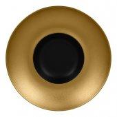 Talerz głęboki gourmet złoty Metalfusion, śr. 26 cm