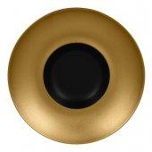Talerz głęboki gourmet złoty Metalfusion, śr. 29 cm