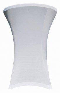 Pokrowiec biały Coctail na stół, śr. 80 cm BTO-C80-W