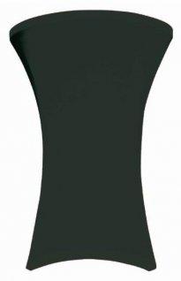 Pokrowiec czarny Coctail na stół, śr. 80 cm BTO-C80-K