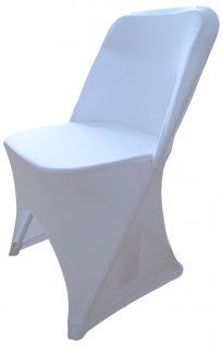 Pokrowiec biały na krzesło BTO-Y53-W