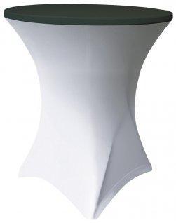 Pokrowiec czarny TOP Coctail na stół, śr. 80 cm BTO-N80-K