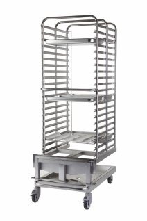 Wózek bankietowy dla pieca 2021 - 118 talerzy VO 2021B-118