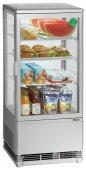 Witryna chłodnicza Mini 78L, srebrna, BARTSCHER 700778G