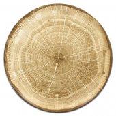 Talerz płaski zielony Woodart, śr. 24 cm WDNNPR24MG