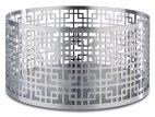 Stojak bufetowy ASIA PLUS ze stali nierdzewnej matowy 21x10.5 cm, APS 15508
