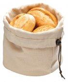 Koszyk bawełniany na pieczywo z poduszką podgrzewającą beżowy 20x23.5 cm, APS 30380