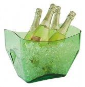 Misa na wino / szampana przezroczysta zielona 7 l, APS 36088