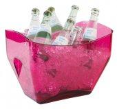 Misa na wino / szampana przezroczysta różowa 7 l, APS 36089