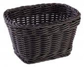 Koszyk prostokątny PROFI LINE z tworzywa sztucznego czarny 17x11 cm, APS 50634