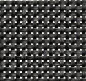 Podkładka pod nakrycie z tworzywa sztucznego wąski splot czarna, APS 60012