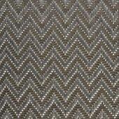 Podkładka pod nakrycie z tworzywa sztucznego cienki splot srebrna, APS 60033