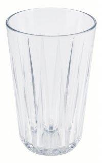 Szklanka CRYSTAL, ztritanu, przezroczysta, poj. 0,3 l, op. 48 szt., APS 10501