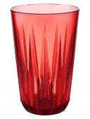 Szklanka czerwona CRYSTAL, z tritanu, przezroczysta, poj. 0,3 l, op. 48 szt., APS 10511