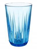 Szklanka niebieska CRYSTAL, z tritanu, przezroczysta, poj. 0,3 l, op. 48 szt., APS 10514