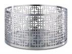 Stojak bufetowy / koszyk ASIA PLUS, ze stali nierdzewnej, satynowy, wym. 21x10,5 cm, APS 15508