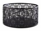 Stojak bufetowy / koszyk ASIA PLUS, ze stali nierdzewnej, czarny, wym. 21x10,5 cm, APS 15511