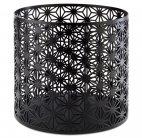 Stojak bufetowy / koszyk ASIA PLUS, ze stali nierdzewnej, czarny, wym. 21x20 cm, APS 15512