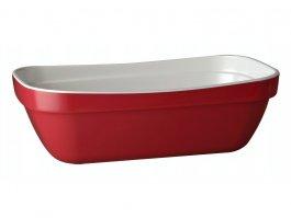 Miska prostokątna BASKET GN 1/4, zmelaminy, czerwono-biała, poj. 1,4 l, APS 84005