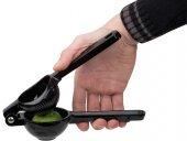 Wyciskarka, wyciskacz do limonki, z aluminium, wym. 21x7 cm, czarna, APS 93189