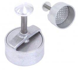 Forma aluminiowa do hamburgerów, forma okrągła, kształt koła/ koło, średnica 100 mm, KD2