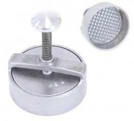 Forma aluminiowa do hamburgerów, forma okrągła, kształt koła/ koło, średnica 125 mm, KD4