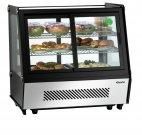 Witryna chłodnicza DELICOOL II-D, kontuar spożywczy, moc 160 W, poj. 120l, czarna, BARTSCHER 700208G