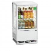 Witryna chłodnicza MINI 58L, chłodziarka, mała, moc 180W, pojemność 58 l, biała, BARTSCHER 700258G