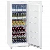 Lodówka 270LN na napoje, butelki, szafa chłodnicza, 6 półek, poj. 267 l, biała, BARTSCHER 700272