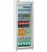 Lodówka 320LN na napoje, butelki, szafa chłodnicza, przeszklona, poj. 320l, biała, BARTSCHER 700321