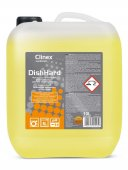 Płyn myjący do zmywarek gastronomicznych DISHHARD, poj. 10 l, CLINEX 77-056