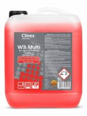 Płyn do mycia łazienek W3 MULTI, poj. 5 l, CLINEX 77-119