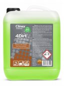 Uniwersalny preparat do usuwania tłustych zabrudzeń 4DIRT, odtłuszczacz, poj. 5 l, CLINEX 77-641