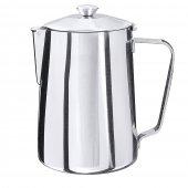Dzbanek do kawy z odchylaną pokrywą, nierdzewny, pojemność 0,3 l, model 100/035