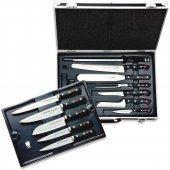 Zestaw 12 elementów szefa kuchni BRISTOL wneseserze zmagnetycznym mocowaniem noży, DICK 8116500
