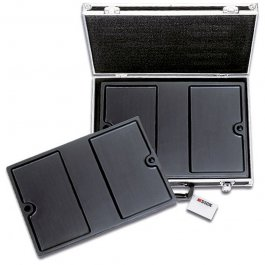 Neseser magnetyczny PROFESSIONAL do transportu noży, zamykany, pusty, wym. 49x36x11 cm, DICK 8117601