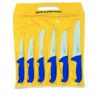 Zestaw 6 rzeźniczych noży ERGOGRIP, noże masarskie, nierdzewne, 6 szt., niebieskie, DICK 8256200