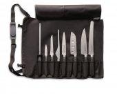 Zestaw noży ActiveCut, 9 częściowy zestaw narzędzi kuchennych, nierdzewne, czarne, DICK 8909400