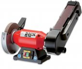 Ostrzałka elektryczna do noży SM-100, z szerokim pasem bezkońcowym, moc 500W,  DICK 9807000